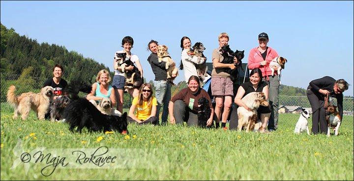 Deltagerne på LoLaBuLand-camp'en - foto: Maja Rokavec